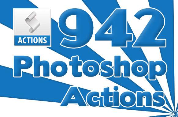 942 Photoshop Actions