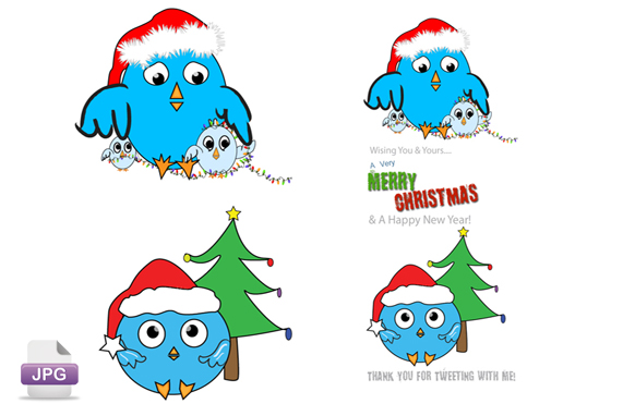 Christmas JPG Tweet Graphics