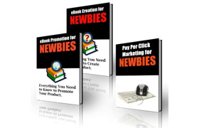 Ebook Creation and Promotion For Newbies Collection