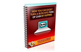 Turn A Blog Into Tons Of Cash By Flipping
