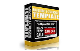 Black Friday HTML PSD Sale Templates