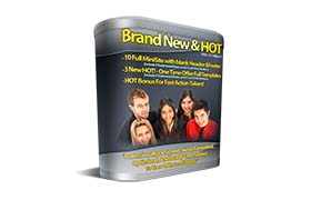 Brand New and Hot Web 2.0 Templates V1