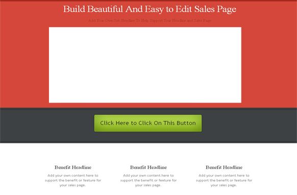 Bright Header HTML and PSD Template