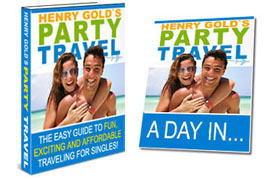 Henry Gold Party Travel Twin Set
