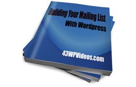 Building List WordPress