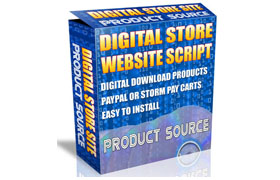 Digital Store Website Script