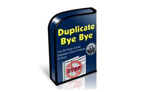 Duplicate Bye Bye