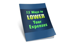 15 Ways To Lower Your Expenses