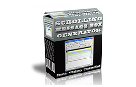 Scrolling Message Box Generator
