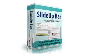 SlideUp Bar Wordpress Plugin