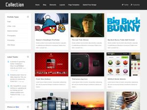 Collection Premium WordPress Theme