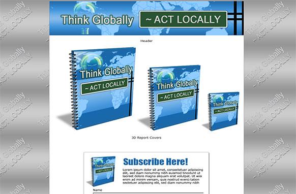 Community Economy HTML PSD Ebook Template Edition 2