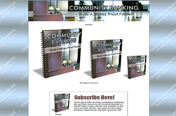 Community Economy HTML PSD Ebook Template Edition 3