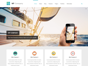 Company Premium Wordpress Theme