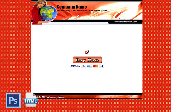 Complete HTML PSD Minisite Edition 14