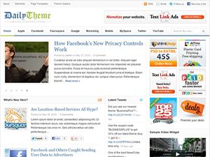 Daily Premium Wordpress Theme