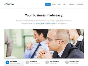 eStudio Premium Wordpress Theme