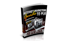 Internet Marketers Guide to PLR