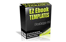 EZ Ebook Template Package V11