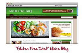 Gluten Free Niche WP Theme
