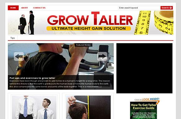 Grow Taller Wordpress Theme