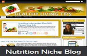 Nutrition Niche WP Theme