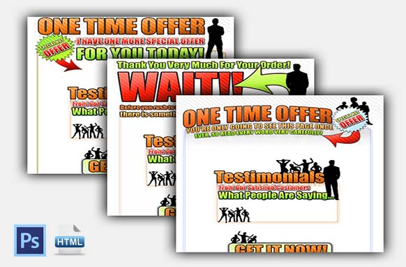 One Time Offer Templates V4