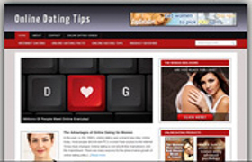 Online Dating WP Theme