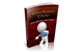 Online Business X Factor