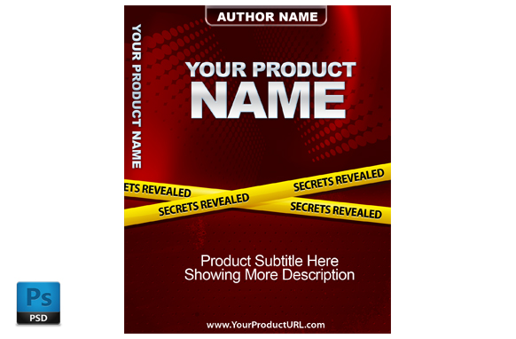 PSD Premade Ebook Cover Template Edition 7