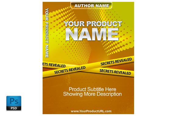 PSD Premade Ebook Cover Template Edition 10