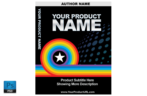 PSD Premade Ebook Cover Template Edition 15