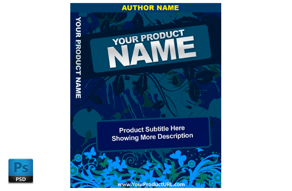 PSD Premade Ebook Cover Template Edition 17