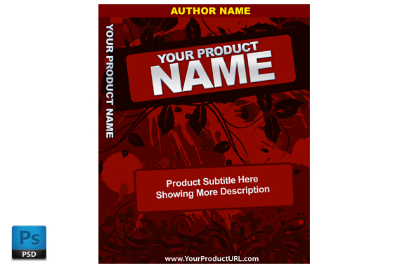 PSD Premade Ebook Cover Template Edition 18