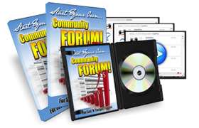 Start Your Own Community Forum
