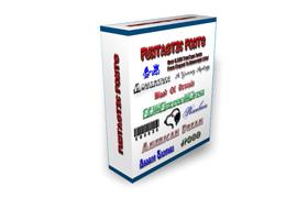 6500 Funtastic Fonts