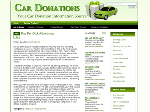 Car Donation WP Theme