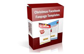 Christmas Facebook Fanpage Templates