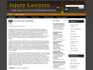 Injury Lawyer WP Theme
