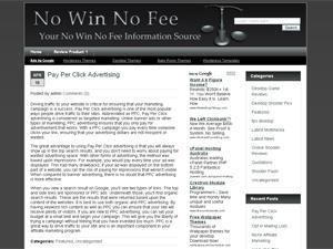 No Win No Fee WP Theme