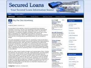 Secured Loans WP Theme