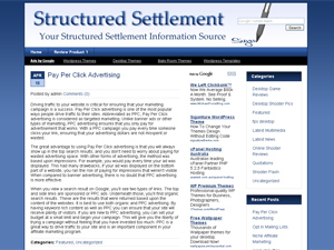 Structured Settlement WP Theme