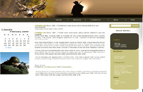 Treasure Hunting WP PSD Theme