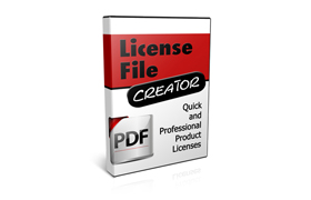 License File Creator