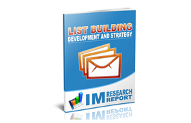 List Building Development and Strategy