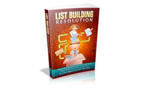 List Building Resolution