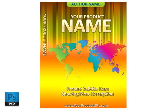 PSD Premade Ebook Cover Template Edition 40