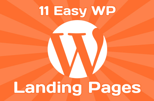 11 Easy WP Landing Pages
