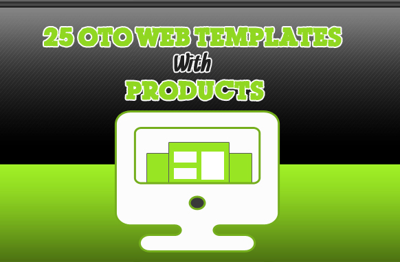 25 OTO Web Templates With Products