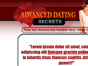 Dating WP PSD Theme